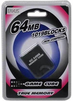 Wii Memory Card 64MB (1019 Block)