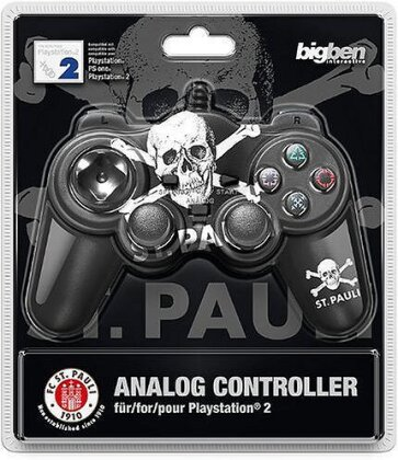 PS2 Controller Analog St. Pauli