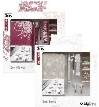 3DS Pack Zen 2 (Flower & Stone)