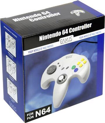 N 64 Controller grau N64