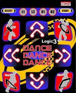 PS2 Tanzmatte Logic 3 auch für PSOne