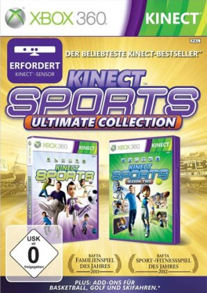Kinect Sports Ultimate (1+2+addon)