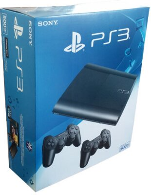 Sony PS3 500GB + 2. Controller