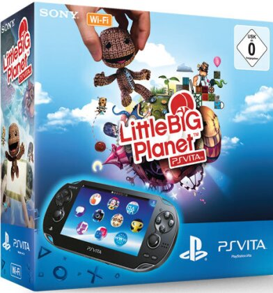 PSVita Konsole WiFi + Little Big Planet Sony Bundle