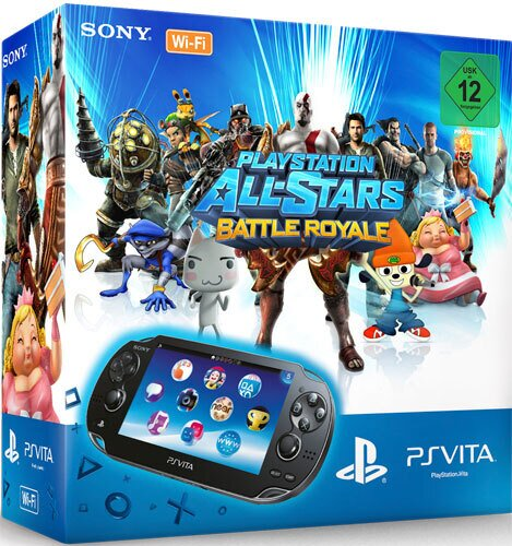 PSVita Konsole WiFi + All Star Battle R. Sony Bundle