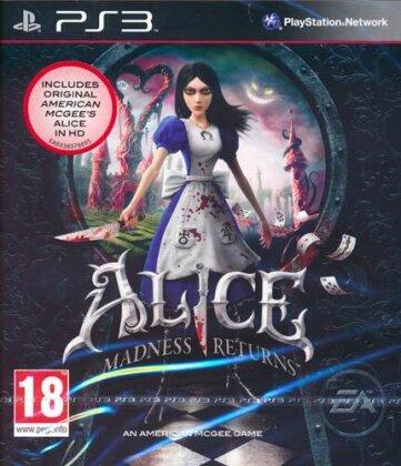 Alice Madness Returns - inkl. Alice 1 HD (GB-Version)