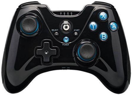 WiiU Controller wireless black BIGBEN Classic Controller