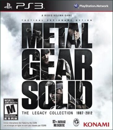 Metal Gear Solid (US-Version) (Legacy Edition)