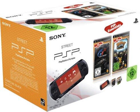 PSP Konsole Street E1004 + GT+Ratchet Size Matters Essentials