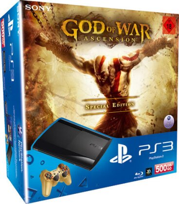 Sony PS3 500GB + God of War: Ascension (Édition Spéciale)