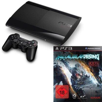 Sony PS3 500GB + Metal Gear Rising Model 4004