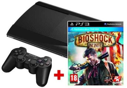 Sony PS3 500GB + Bioshock Infinite AT Model 4004