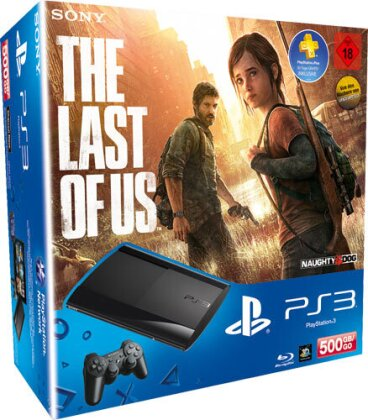 Sony PS3 500GB + Last of Us + PS+Voucher Model 4004