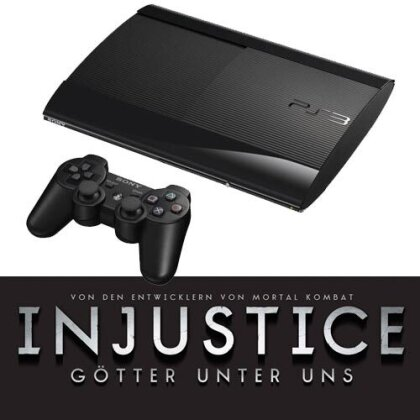 Sony PS3 500GB + Injustice (Papersleeve) Model 4004