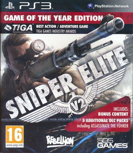 Sniper Elite V2 Game of the Year (GB-Version)