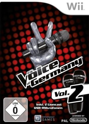 Voice of Germany 2 Wii Bundle inkl. 2 Micros