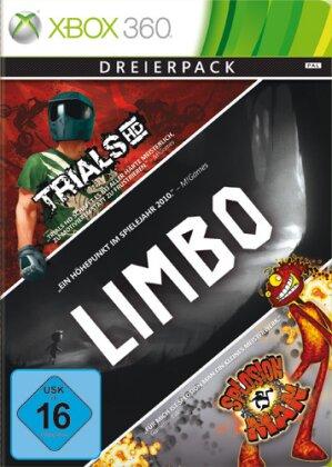 XB360 Live Hits 3 Games Limbo Trials HD Splosion Man