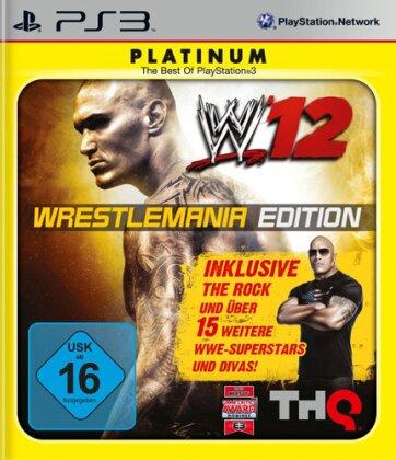 WWE 12 Wrestlemania Edition Platinum