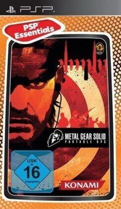 Metal Gear Solid Portable Ops Essentials