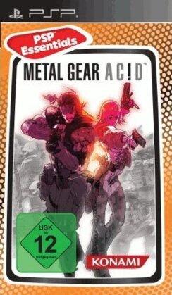 Metal Gear Acid Essentials
