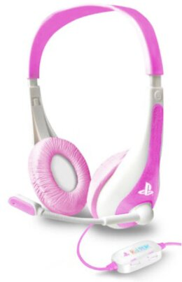KidzPlay Stereo Gaming Headset - pink [Official Licensed Product][PS3]