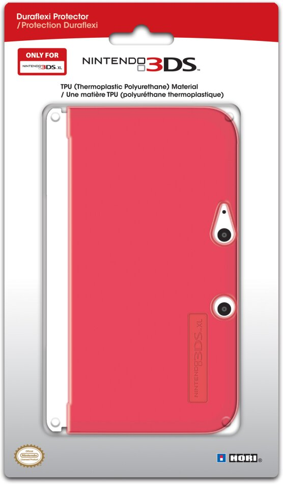 Duraflexi TPU Protector - red [3DS XL] - Taille XL