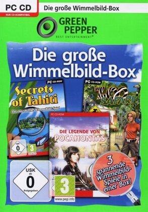 Green Pepper: Wimmelbild- Spiele-Box