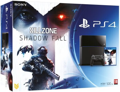 Sony PS4 Konsole 500GB + Killzone Shadow Fall