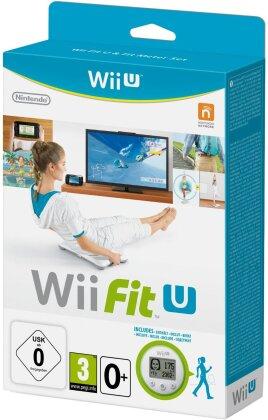 Wii-Fit U + Fit Meter grün