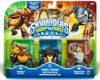 Skylanders Swap Force Battle Pack (Bumble Blast, Terrafin, Caultron)