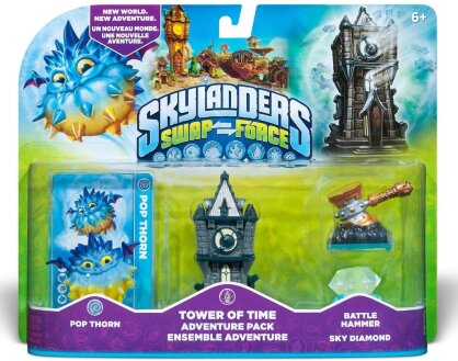 Skylanders Swap Force Adventure Pack (Pop Thorn, Tower, Diamonds, Hammer)