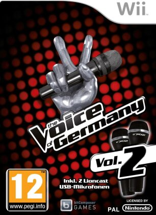 The Voice of Germany Vol. 2 - Bundle mit 2 Mikros
