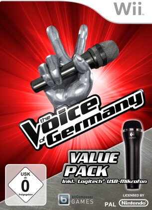 Voice of Germany Wii + 1 Mikro