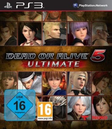 Dead or Alive 5 Ultimate (UK)