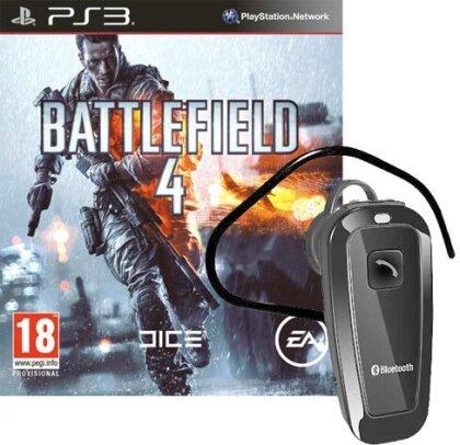 Battlefield 4 + Headset Bundle - (inkl. China Rising)