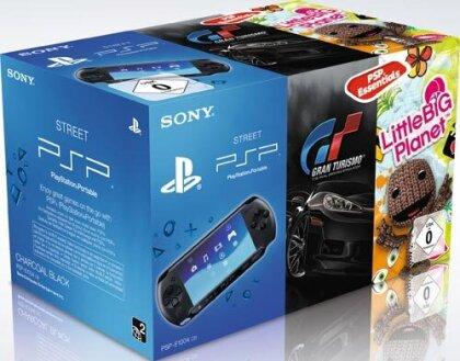 PSP Konsole Street E1004 + GT + LBP