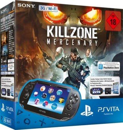 PSVita Konsole WiFi + 8GB Killzone Mercury
