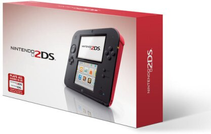 2DS Konsole WhiteRed