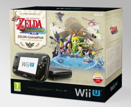 WiiU Konsole Premium + Zelda Wind Waker