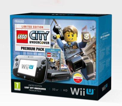 WiiU Konsole Premium + LEGO City Undercover