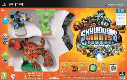 Skylanders Giants Exclusive Starter Pack - Glow In The Dark