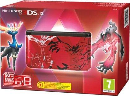 3DS Konsole XL Pokemon XY red