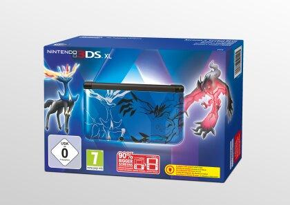 3DS Konsole XL Pokemon XY blue