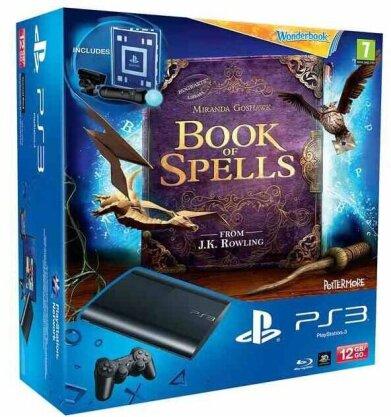 PlayStation 3 12 GB + Das Buch der Zaubersprüche + Move Starter Pack