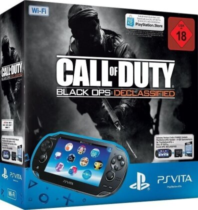 Sony PSVita Console (Wi-Fi) inkl. 4GB Memory Card + Call of Duty Black Ops Declassified Voucher