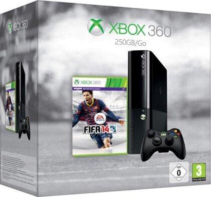 XB360 Konsole 250 GB + FIFA 14 + 1 Monate XBL Gold neues Design