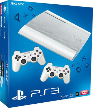 Sony PS3 12 GB weiss + 2. Controller Model 4004
