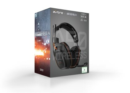 Astro Gaming A50 Wireless Dolby 7.1 Headset Black inkl. MixAmp BATTLEFIELD 4 EDITION (Xbox 360/PS3/PC)