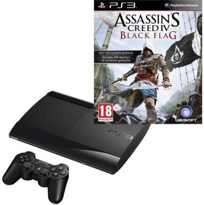 Sony PS3 500GB + Assassins Creed 4 Black Flag