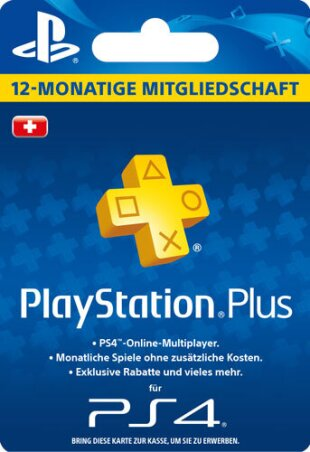 PSN Playstation Network Live Plus Card 365 Days